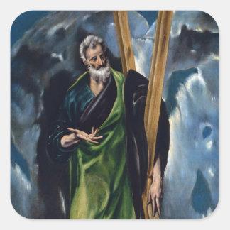 El Greco Art Stickers