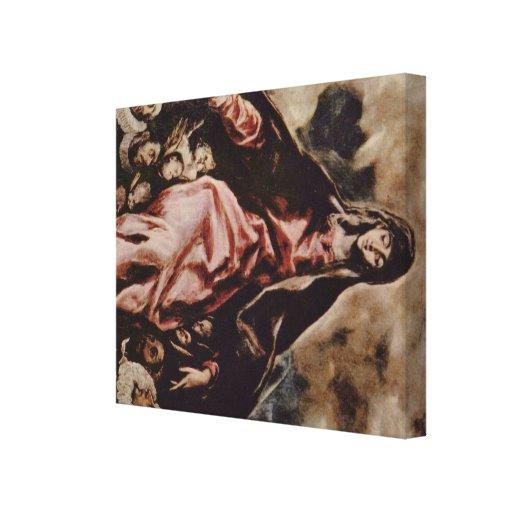 El Greco Art Stretched Canvas Prints