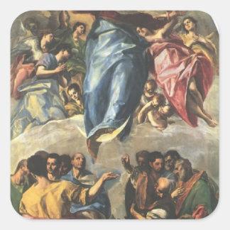 El Greco- Assumption of the Virgin Stickers
