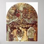 El Greco - Burial of Count Orgaz Print