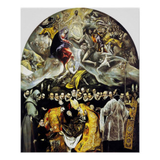 El Greco Burial of the Count of Orgaz Poster