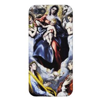 El Greco caso del iPhone 5 de la Virgen y del niño iPhone 5 Carcasa