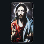 "El Greco Christ Blessing iPod Touch Case<br><div class=""desc"">El Greco Christ Blessing (Savior of the World) iPod touch case. Oil painting on canvas from 1600. El Greco devoted the majority of his work to religious themes, this depiction of Jesus Christ is among his most popular. The Savior is presented with hand extended in peace and blessing wearing a...</div>"