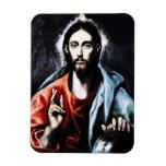 El Greco Christ Blessing Magnet