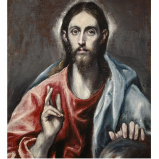 El Greco - Christ Blessing Cut Outs