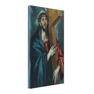 El Greco - Christ Carrying the Cross Canvas Print