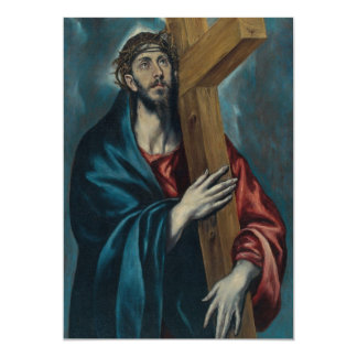 El Greco - Christ Carrying the Cross Card