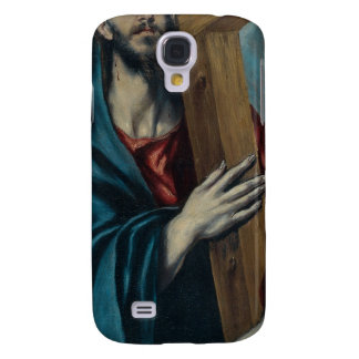 El Greco - Christ Carrying the Cross Galaxy S4 Cases