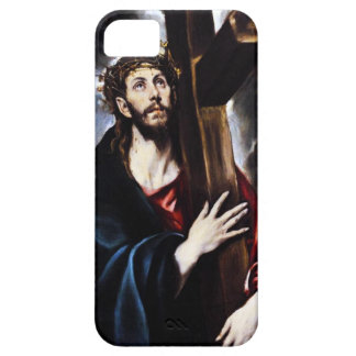 El Greco Christ Carrying The Cross iPhone 5 Case