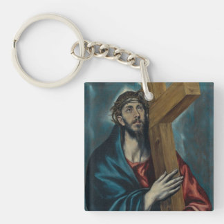 El Greco - Christ Carrying the Cross Keychain