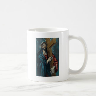 El Greco - Christ Carrying the Cross Classic White Coffee Mug