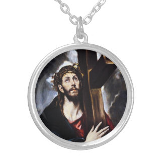 El Greco Christ Carrying The Cross Necklace