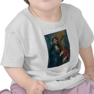 El Greco - Christ Carrying the Cross Tee Shirt