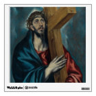 El Greco - Christ Carrying the Cross Wall Sticker