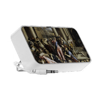 El Greco- Christ driving the traders from temple Mp3 Speakers