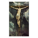 El Greco Christ On The Cross Poster