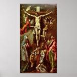 El Greco - Cristo en la cruz Impresiones