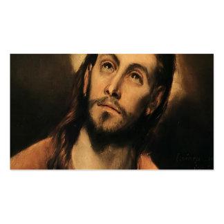 EL Greco- Cristo Tarjetas De Visita
