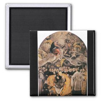 El Greco - dOrgaz de LEnterrement du Comte Imán