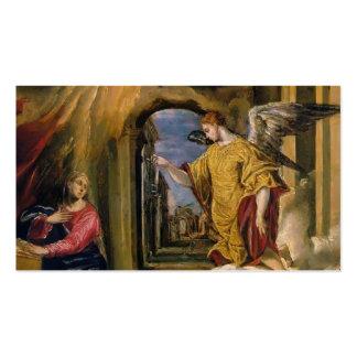 EL Greco- el anuncio Plantilla De Tarjeta De Negocio