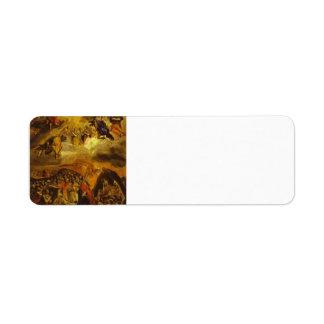 EL Greco- el sueño de Philip II Etiquetas De Remite