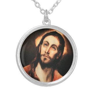 El Greco Jesus Christ Necklace