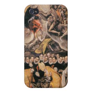 El Greco - LEnterrement du Comte dOrgaz iPhone 4 Cases