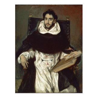 El Greco Portr?t des Fray Hortensio Felix Paravici Post Card