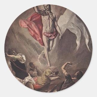 El Greco- Resurrection Stickers