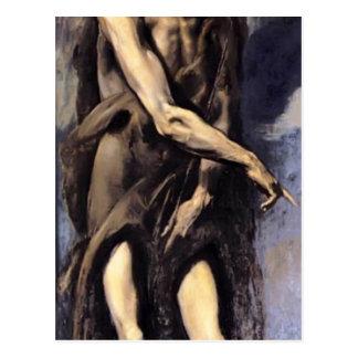 El Greco- St. John the Baptist Post Card