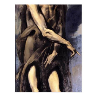 El Greco- St. John the Baptist Post Cards