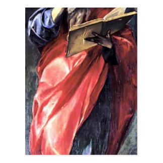 El Greco- St. John the Evangelist Post Card