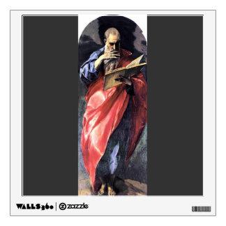El Greco- St. John the Evangelist Wall Graphic