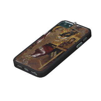 El Greco- St. Luke painting the Virgin iPhone 5/5S Cases