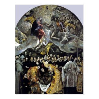 El Greco sumario - el entierro de la cuenta de Org Postales