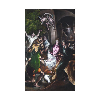 El Greco The Adoration of the Shepherds Canvas Print