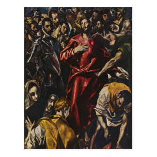 El Greco- The Disrobing of Christ Post Cards
