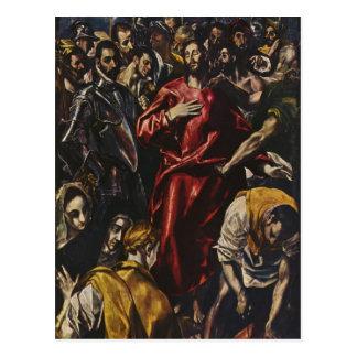 El Greco- The Disrobing of Christ Postcard