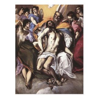 El Greco- The Holy Trinity Post Card