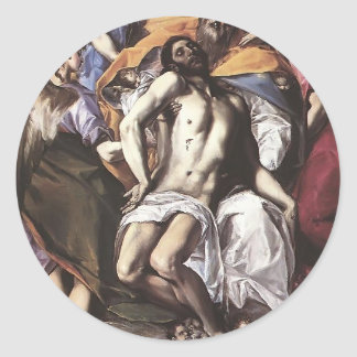 El Greco- The Holy Trinity Stickers