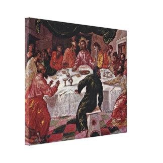 El Greco - The Last Supper Canvas Print