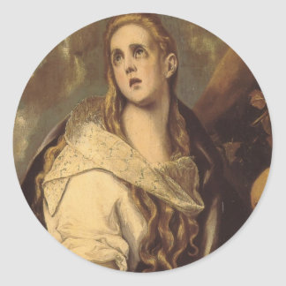 El Greco- The Penitent Magdalene Stickers