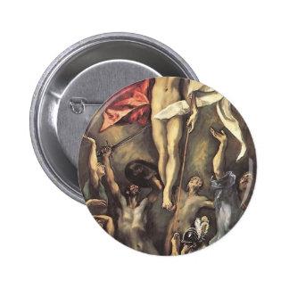 El Greco- The Resurrection Button