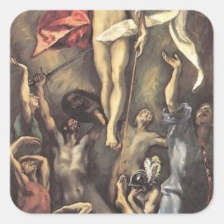 El Greco- The Resurrection Sticker