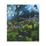 El Greco View of Toledo Canvas Wrap Canvas Print