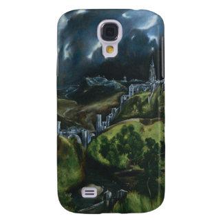 El Greco View of Toledo Samsung Galaxy S4 Covers