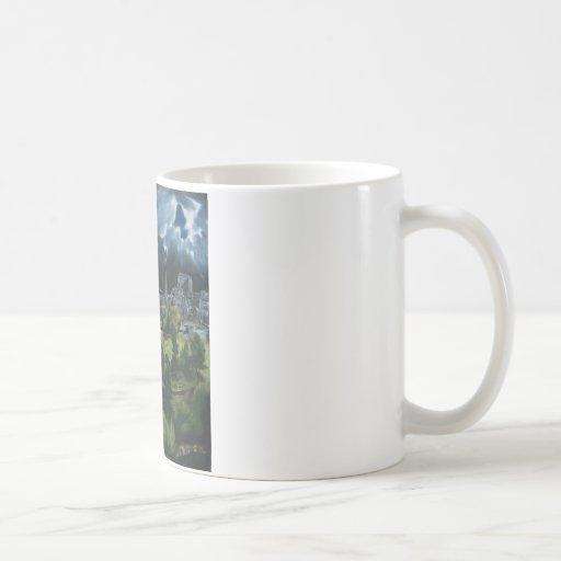 El Greco View of Toledo Classic White Coffee Mug