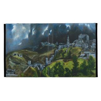 El Greco View of Toledo iPad 3 Case iPad Case