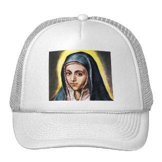 El Greco Virgin Mary Hat