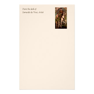 El Greco's Saint Martin and the Beggar, circa 1600 Customized Stationery